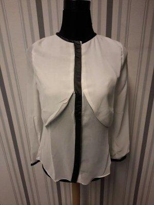 Weiße Sommer Bluse Größe L