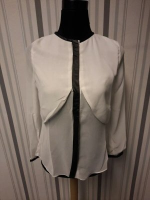 Weiße Sommer Bluse Größe M