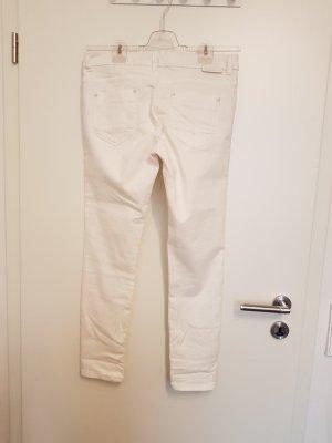 Stretch broek wit