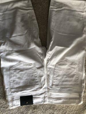 Weiße Sommer Jeans