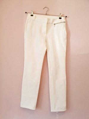 Airfield 3/4 Length Trousers white spandex