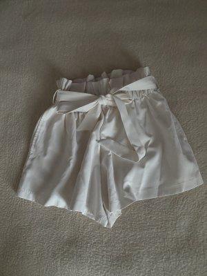 Cherry Koko Pantaloncino a vita alta bianco
