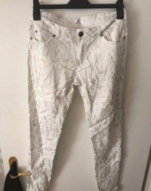 Ann Christine Drainpipe Trousers multicolored
