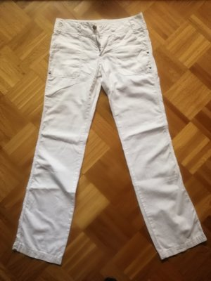 Colours of the World Linen Pants white