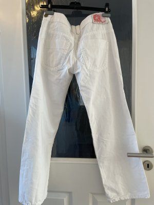 Lee jeans Jeans taille basse blanc
