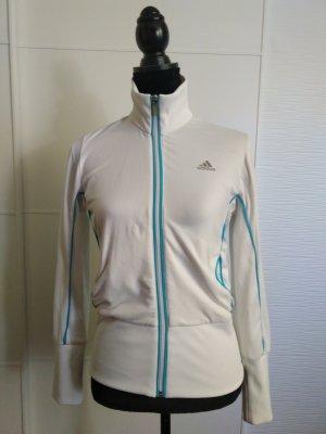 Weiße Sportjacke von Adidas