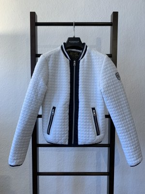 HV Polo Quilted Jacket white-black polyamide