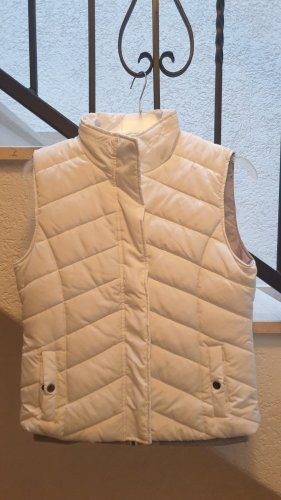 Gina Quilted Gilet white