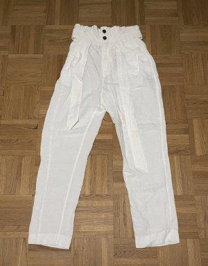 H&M Linnen broek wit