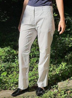Weiße Stoffhose