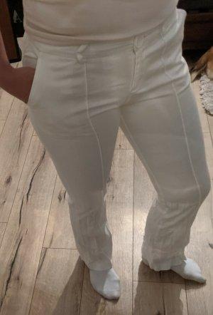 Jennifer Taylor Pantalone jersey bianco