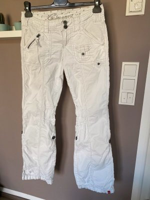 Esprit Cargo Pants white cotton