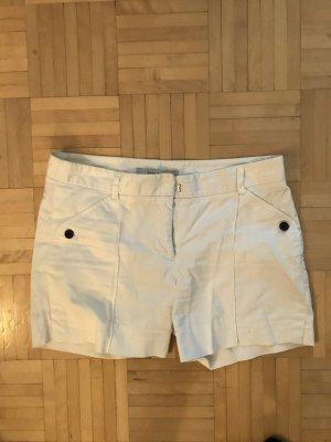 Zara Basic Hot pants wit