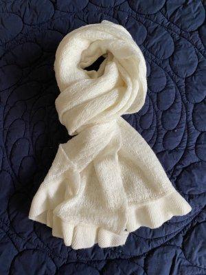 Weiße Stola für Brautkleid