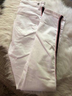 Weiße Stretch Hose
