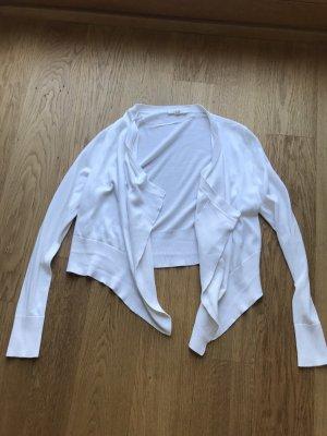 Weiße Strickjacke von Esprit Größe M