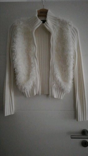 weiße Strickjacke von Tally Weijl