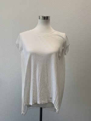 weisse T-Shirtbluse