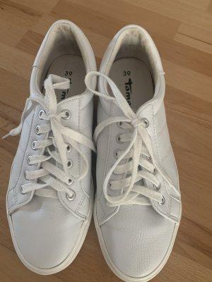 Weiße tamaris sneaker Größe 39