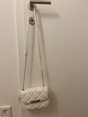 Crossbody bag white-gold-colored