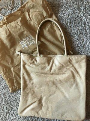 Weiße Tasche von Nicole P!etag
