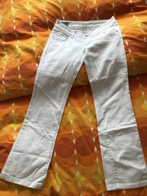 Gang Denim Flares white-cream
