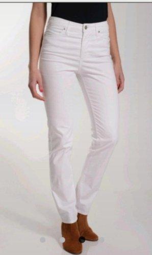Tommy Hilfiger Pantalon taille haute blanc