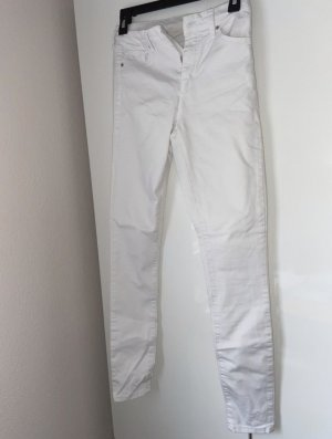 Topshop High Waist Trousers white