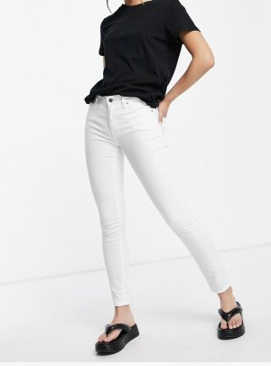 Topshop Stretch Jeans white