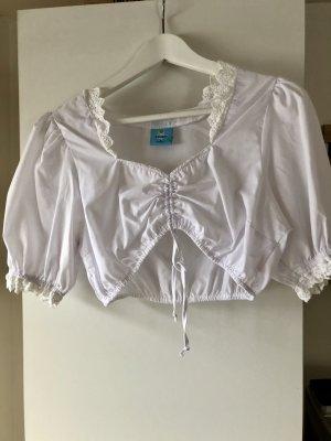 Alpenzauber Folkloristische blouse veelkleurig