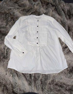 Yessica Tunique-blouse blanc-argenté