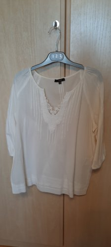1.2.3 Paris Tunique-blouse blanc coton