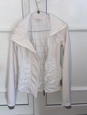 Bench Kurtka sportowa biały-w kolorze białej wełny
