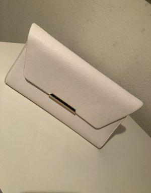 Weiße Umhängetasche/Clutch