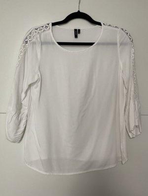 Weiße Vero Moda Bluse