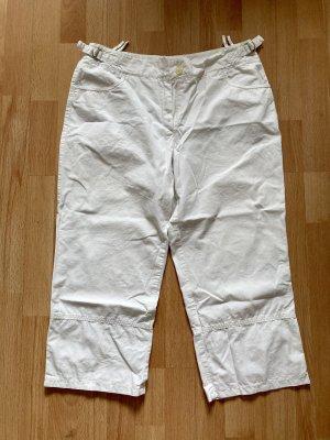 True Vintage Spodnie Capri biały