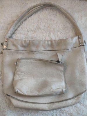 Weiße Vintage Marc O´Polo Tasche aus Leder mit Innentasche