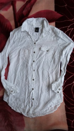 Best Connections Long Sleeve Blouse white-silver-colored