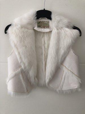 Orsay Futrzana kamizelka biały
