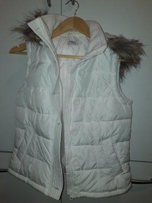 Pimkie Capuchon vest wit Polyester