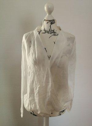 armedangels Kopertowa bluzka biały