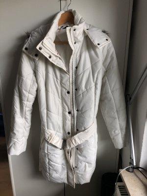 Esmara Manteau à capuche blanc