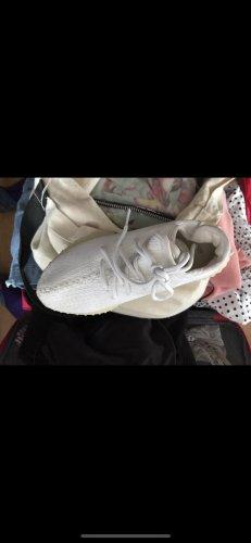 Yeezy Sneakers met hak wit