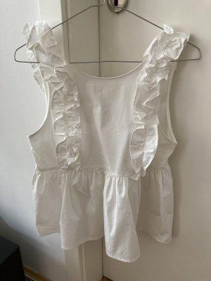 Weiße ZARA Bluse XS wie Neu