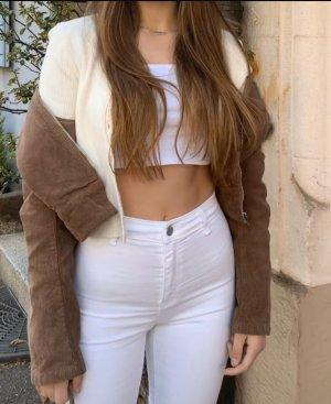 Zara Stretch Jeans white-natural white
