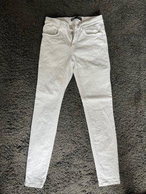 Weiße Zara Skinny  Jeans