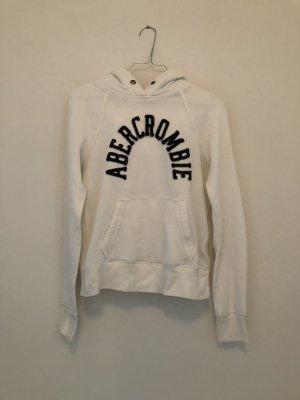 Weißer Abercrombie & Fitch Pulli mit Logo