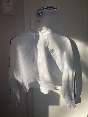 weißer Adidas hoodie