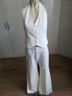 Mango Tailleur pantalone bianco