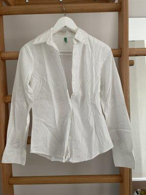 Weißer Benetton Hemd